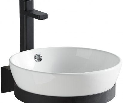 Toilet set Black/white